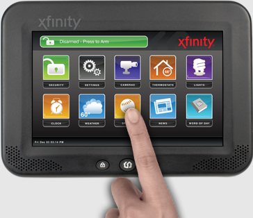 Comcast S New Fully Integrated Home Monitoring System